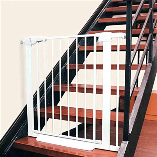 Price comparison product image WDOPZMS Pressure Mounting Door - Child Safety Door,  Baby Kitchen Fence Pet Door Railing,  Safety Guard Stair Railing Security Net 85-92cm (Size : 150-157cm)