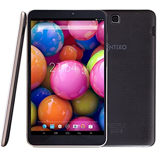 Contixo A82 8 Google Android Tablet Quad Core 8GB, Android 4.4 KitKat, IPS Screen, Bluetooth, Black Coupons