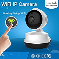 HD - Wi-Fi Security Camera - Baby Monitor - Night Vision