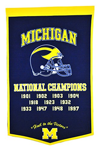 (Winning Streak NCAA Michigan Wolverines Dynasty Banner)