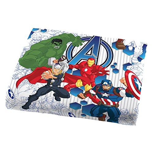 Marvel Avengers 'Blue Circle' Sheet Set,