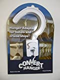 Inflatable Hangers, Adapter Hook for Hotel Hangers and Small Hook Hangers. Eliminate Carrying Inflatable Hangers.