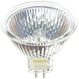 Ushio 1000589 - FNV, JR12V-50W/WFL60 - MR16 Eurostar 50 Watt 12 Volt Wide Flood Halogen Bulb