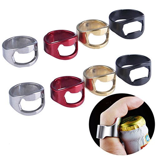 Beer Bottle Opener,Stainless Steel Bottle Opener,Ring Bottle Opener Best Bottle Openers Pack of 22mm (8 pack)