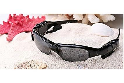 Lunettes Bluetooth avec casque sans fil Sports de plein air Lunettes de soleil  Lunettes de soleil vélo multifonctions intelligents Musique Lunettes ... a9a547466339