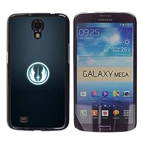 iKiki Tech / Estuche rígido - Star Wars Faction Sign - Samsung Galaxy Mega 6.3