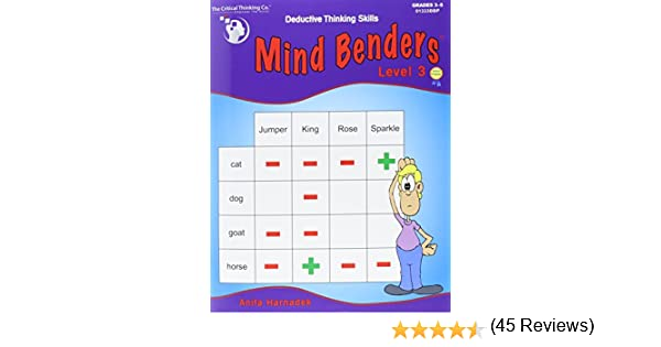 Mind Benders Level 3 (Grades 3-6): Anita Anita Harnadek ...