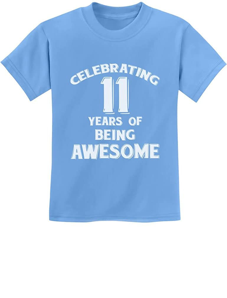 11 Years of Being Awesome! Birthday Gift for 11 Year Old Youth Kids T-Shirt GZrrtZlgm