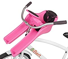 The iBert safe-T-seat provides families with exactly what they are looking for in a childrens bike seat; comfort, safety, an attractive and innovative design, and a good position where the child can fully explore the scenery. Nestled safely b...