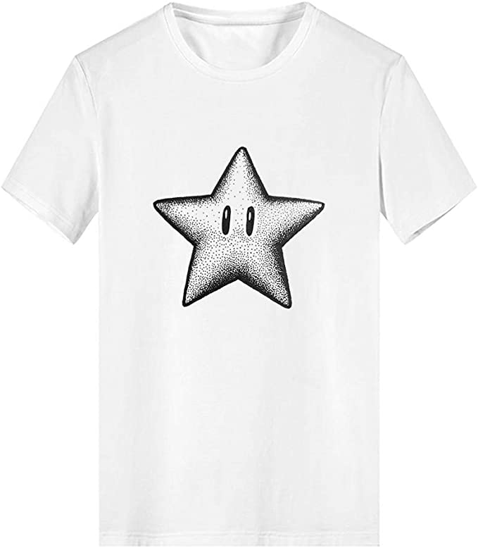YEZIJIN Boys and Girls Fashion Cartoon Animated Parent-Child T-Shirt Tops Unisex Fashion 2019 Under Dollars