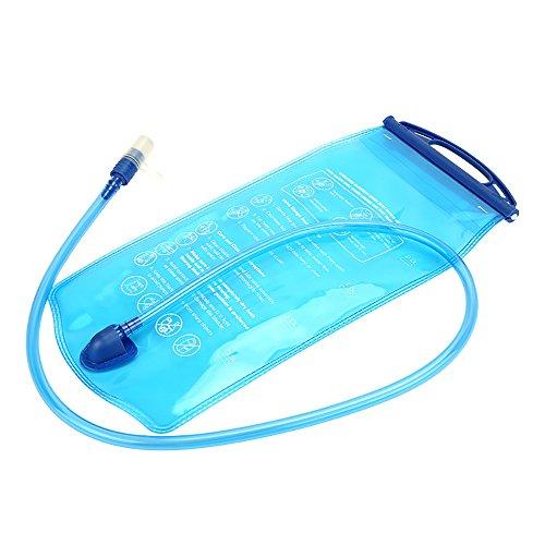 2L Wasser Tasche Trinkblase Tasche 100cm stroh für Klettern Radfahren Laufen und Wandern