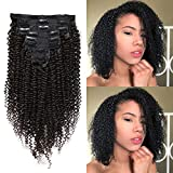 Best Clip In Hair Extensions For African American Hairs - KeLang Afro Kinkys Curly Clip in Hair Extensions Review