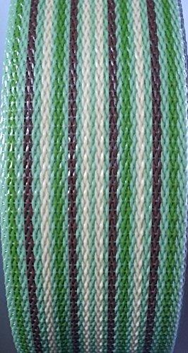 WebbingPro(TM) Multi Stripe Lawn Chair Webbing 3 Inch Wide 92 Feet Long Roll