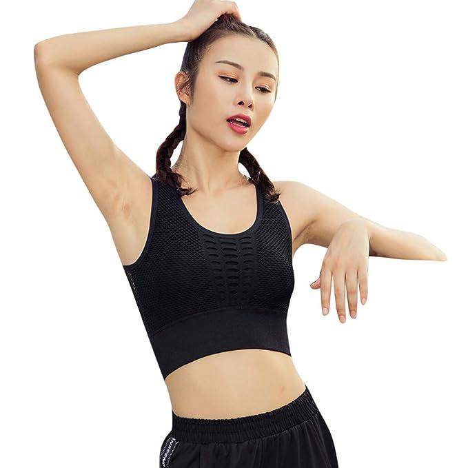 YEBIRAL Sujetadores Deportivos Mujer, Ultimate Yoga ...