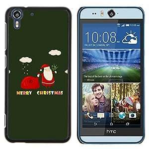Stuss Case / Funda Carcasa protectora - Invierno Feliz Navidad Vacaciones de regalos - HTC Desire Eye ( M910x )