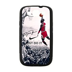 Hipster NBA Chicago Bulls Michael Jordan Samsung Galaxy S3 I9300 Case Cover TPU Laser Technology Dunk