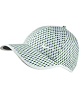 NEW Nike Ladies Seasonal Ultralight White/Voltage Green Adjustable Hat/Cap