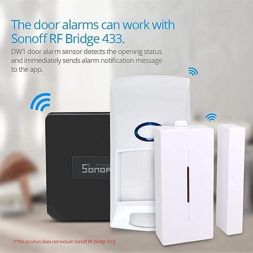 433MHZ 2-Wege Tür-//Fensterkontakt kompatibel zu Sonoff bridge