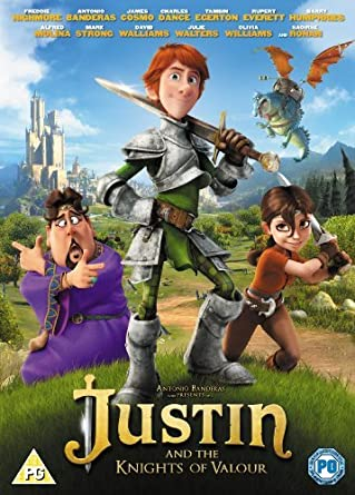 Justin and the Knights of Valour DVD by Freddie Highmore: Amazon ...
