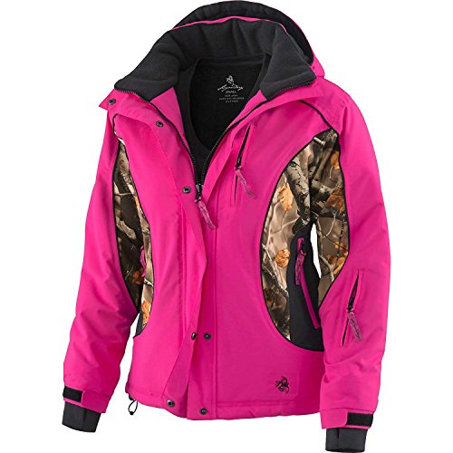 Legendary Whitetails Women's Polar Trail Pro Series Winter Jacket Black Small