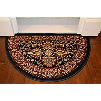 Amazon Com 2 2 Quot X 3 3 Quot Traditional Design Hearth Slice Rug