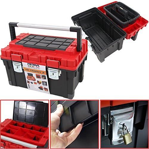 Plástico Caja De Herramientas para HD Box Trophy{2}, 60 x 35 cm ...