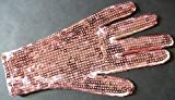 Celebrity Pink Sequin Sparkle Glove (Both Sides Have Sequins)