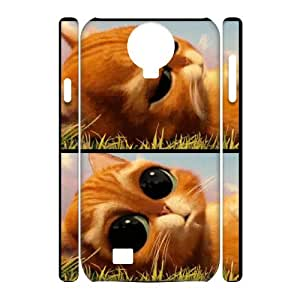 WJHSSB Puss in Boots Phone 3D Case For Samsung Galaxy S4 i9500 [Pattern-5]