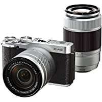 FUJIFILM mirror-less single-lens X-A2 double zoom lens kit Silver X-A2S1650II / 50230II [International Version, No Warranty]