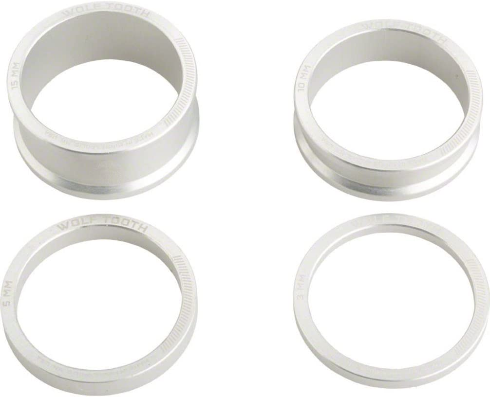 15mm 10 5 Purple Wolf Tooth Headset Spacer Kit 3