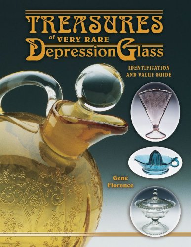 Treasures Of Very Rare Depression Glass, Identification and Value Guide (Rare Glass)