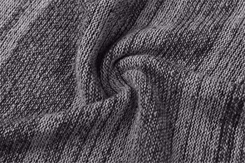 Unie À Mode Pull Base Manches Hommes Printemps Rétro Gris Couleur Casual D'hiver Longues Tricoté Automne De La Élégant Stricktop z6wz1