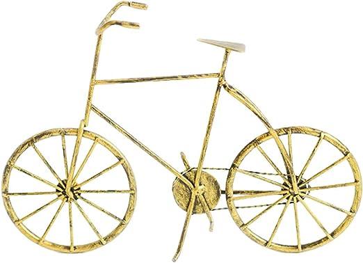 SUPVOX Vintage Hierro Bicicleta Bicicleta Modelo estatuilla ...