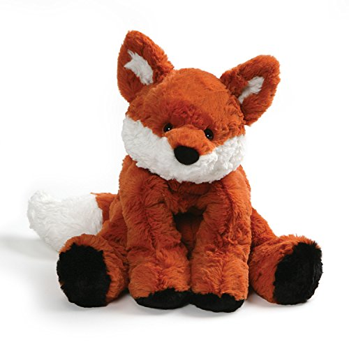 GUND Cozys Collection Fox Stuffed Animal Plush, Orange and White, 8