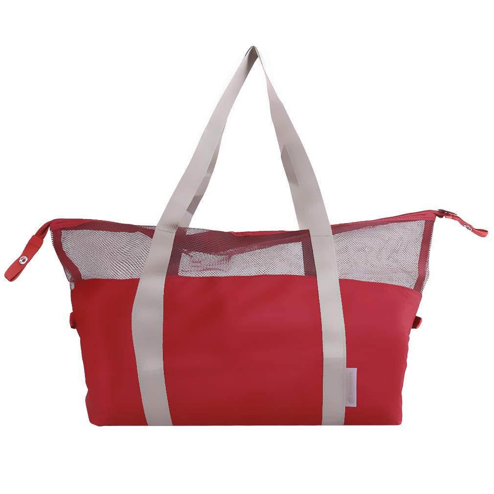 LALANG Women Waterproof Bag Outdoor Multifunction Sport Swimming Beach Storage Bag Shoulder Bag