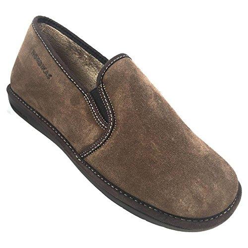Scamosciata Pelle Uomo 663 Nordika Pantofole Afelpado Mickey In 1wOxt1E