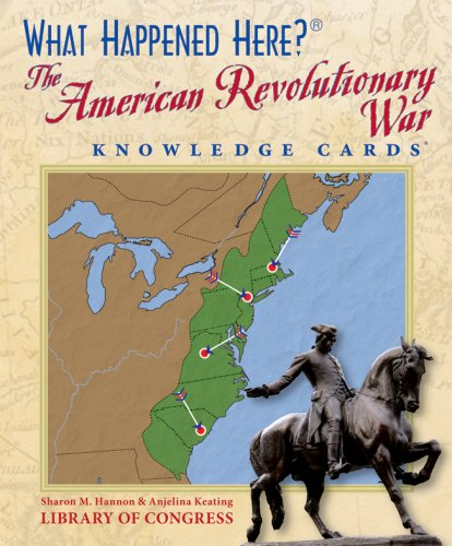 Read Online What Happened Here? The American Revolutionary War Knowledge Cards Deck pdf epub