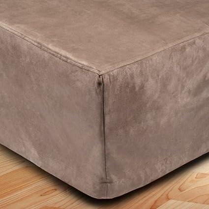 MADURA Montana- Cubre canapé, poliéster, marrón, 160 x 200 cm ...
