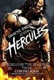 HERCULES MOVIE POSTER 2 Sided ORIGINAL Version B 27x40 DWAYNE JOHNSON