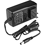 DC 12V 2A Power Supply Adapter (3.6ft Long), AC 100-240V to DC 12V Transformers,12 Volt 2 Amp Power Adaptor, 2.1mm X 5.5mm US Plug, UL Listed FCC