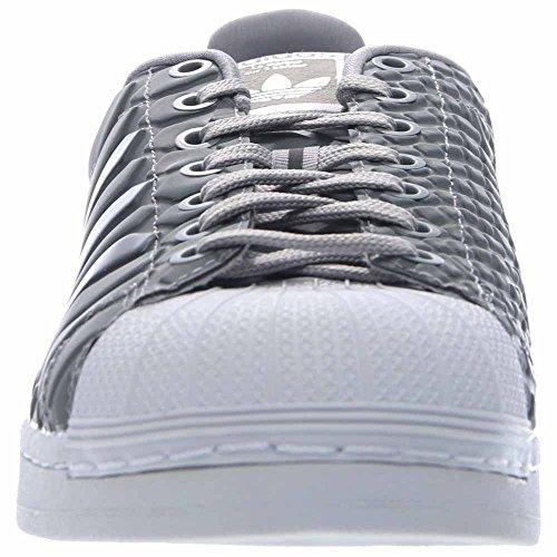 Adidas Superstar Originals Cblack / supcol / ftwwht Basketballschuh 9 Us Grau