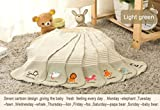 14-Pack Baby Bibs and Burp Cloths Set for Boys and Girls - Burps...