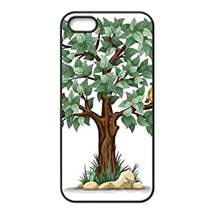 Th Love Tree Hight Quality Plastic Case for Iphone 5s