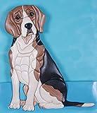 Beagle Intarsia