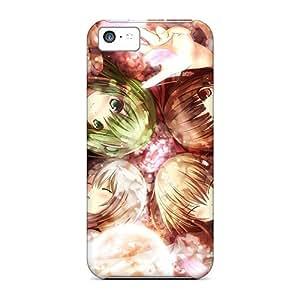 Tpu Amoyi Shockproof Scratcheproof Touhou Hard Case Cover For Iphone 5c