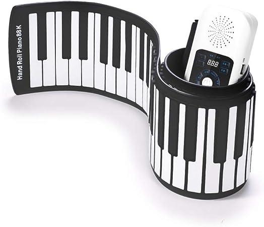 AETOPP - Teclado para piano (plegable, 88 teclas, 88 teclas ...