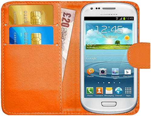 G-Shield Case for Samsung Galaxy S3 Mini, Leather Wallet for sale  Delivered anywhere in Canada