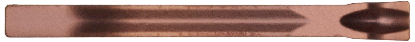 Sandvik Coromant CoroCut 1-Edge Carbide Parting Insert, GC1145 Grade, Multi-Layer Coating, CM Chipbreaker, 1 Cutting Edge, N123E1-0200-0002-CM, 0.0079'' Corner Radius, E Insert Seat Size (Pack of 10) by Sandvik Coromant (Image #3)