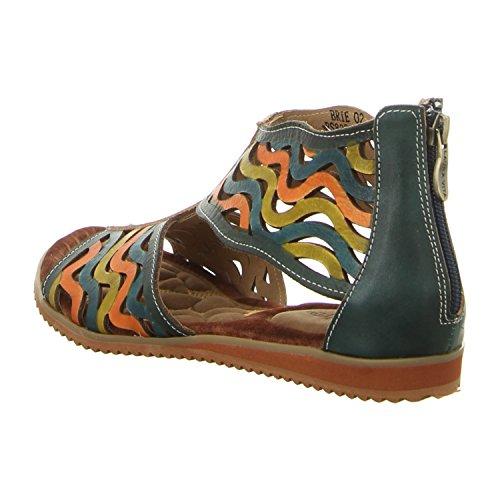Laura Vita Rs828-a2 Jeans - Sandalias de vestir de Piel para mujer vaquero