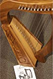 ROOSEBECK BABY HARP 12-STRING, LACEWOOD